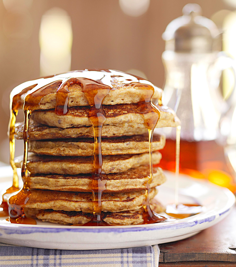 Four-Grain Pancakes