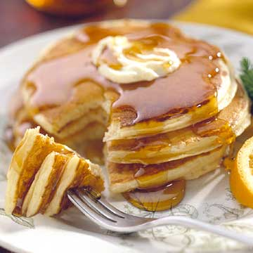Snow-Season Pancakes