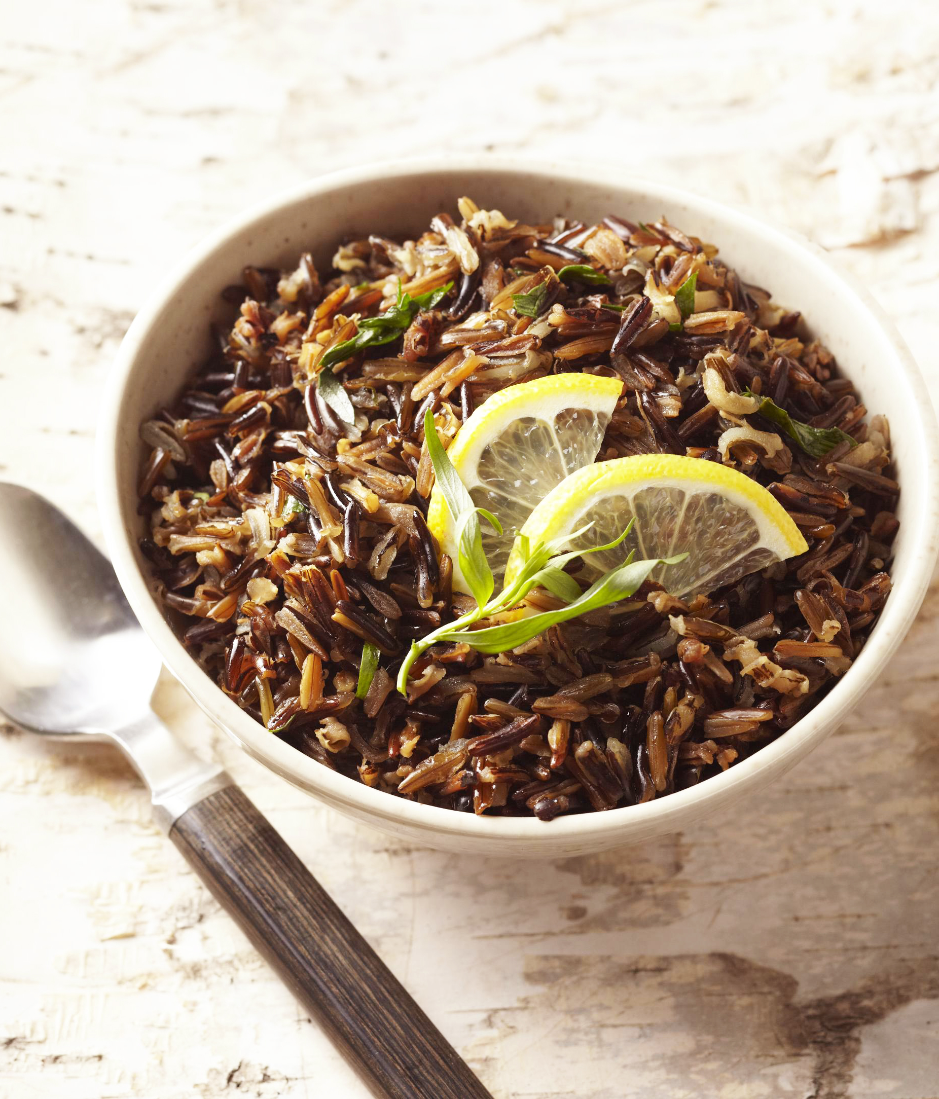 Lemon-Tarragon Wild Rice