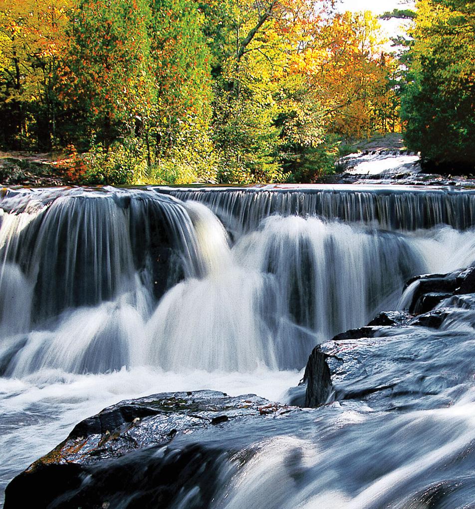 Waterfall Beauty On Michigan's Upper Peninsula