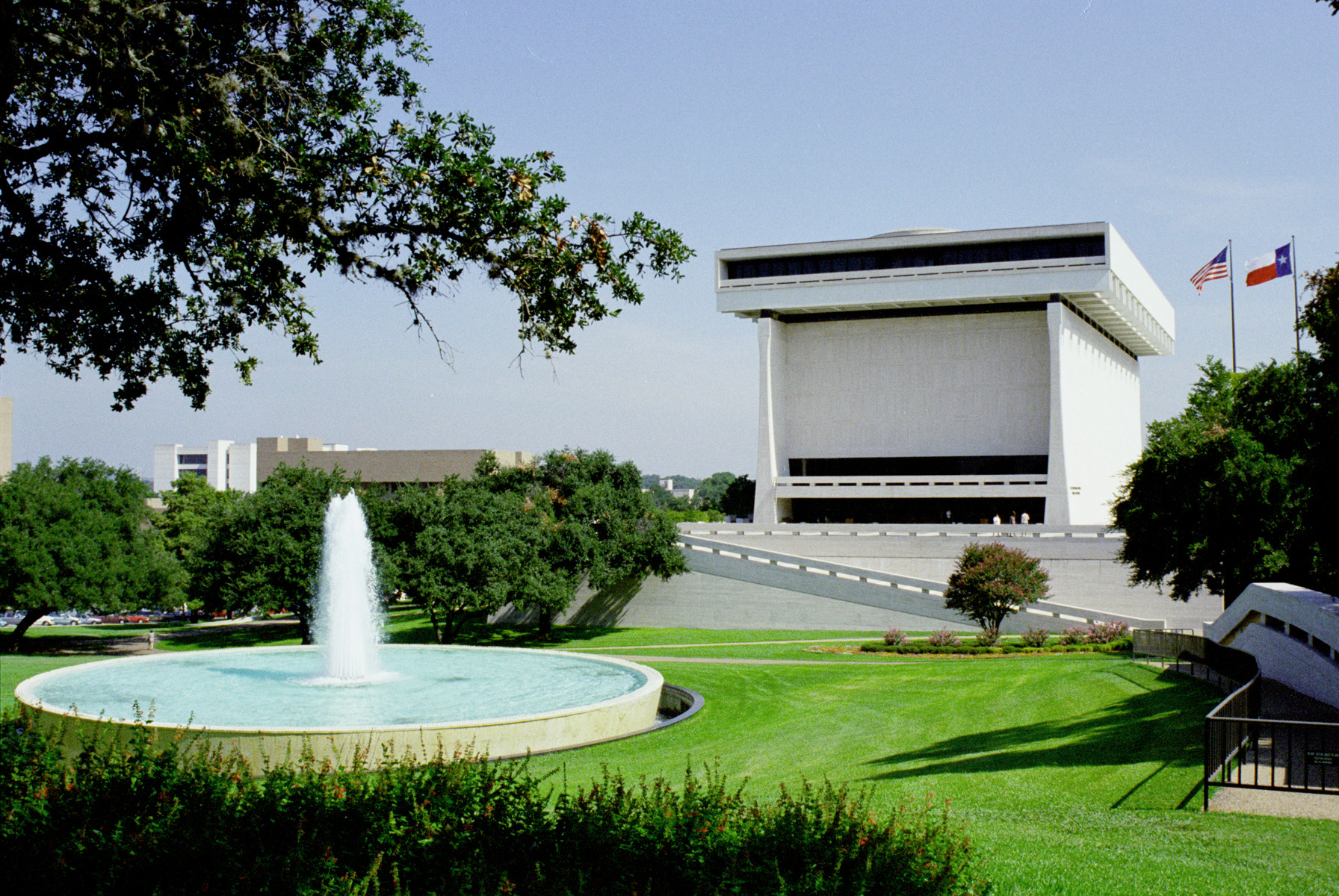 LBJ Library and Museum. Photo Courtesy of Austin Convention and Visitors Bureau.