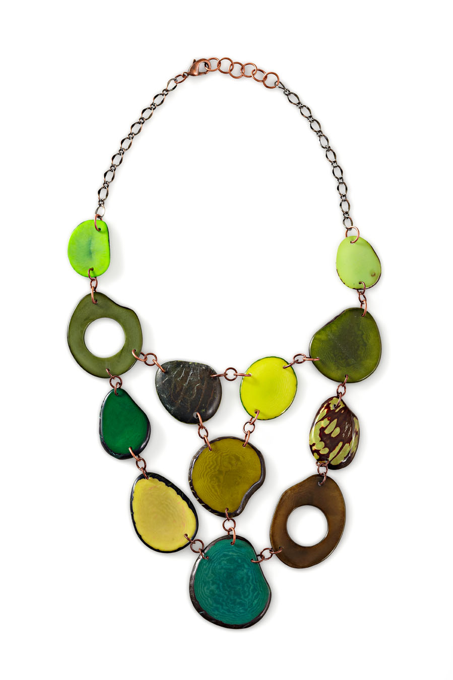 Veronica Riley Martens tagua necklace