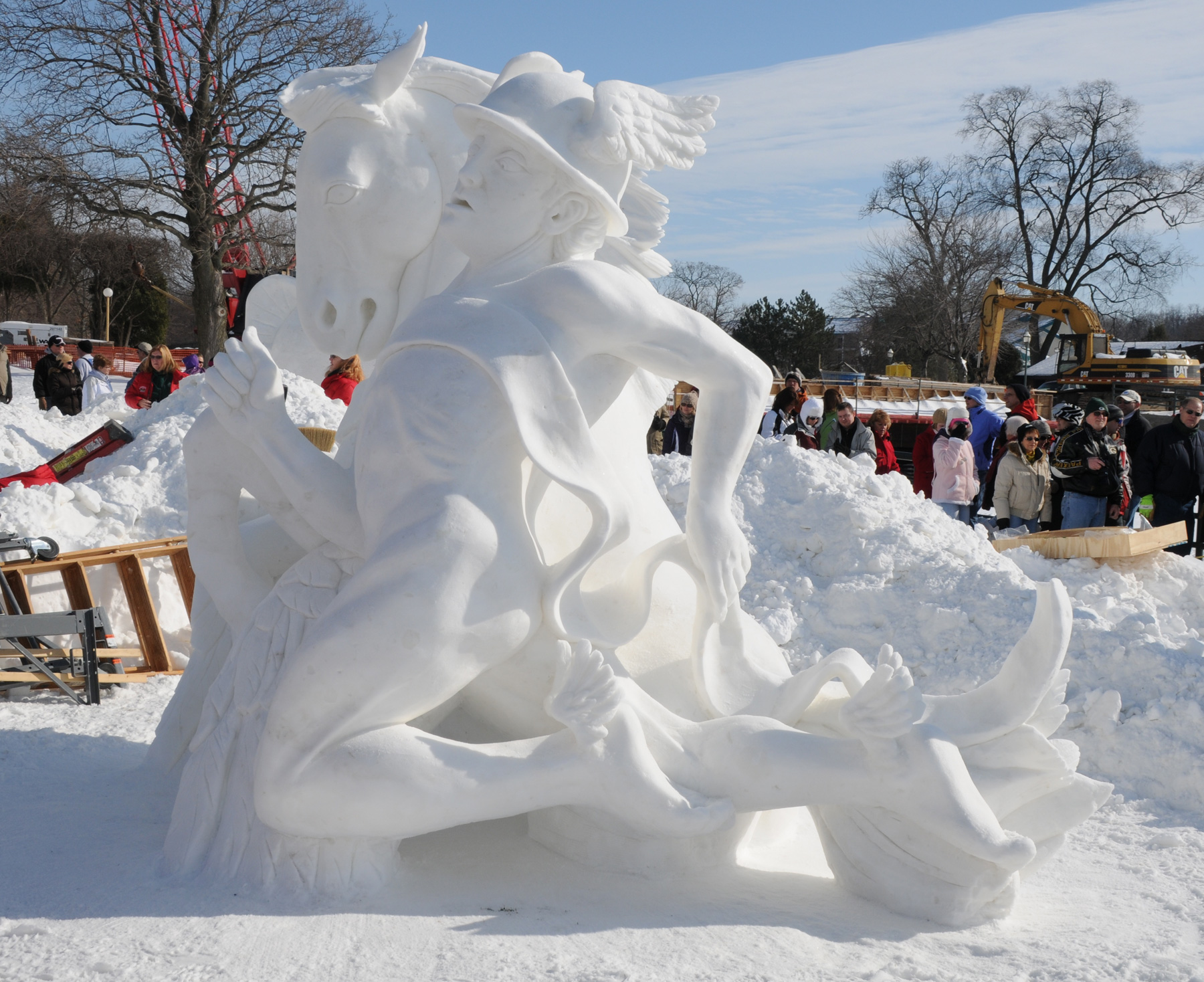 Winterfest 2011 winner. Photo Courtesy of Lake Geneva Area Convention and Visitors Bureau.