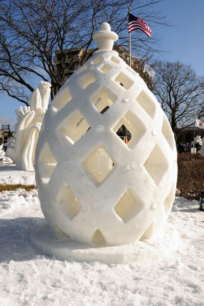 Winterfest 2012 winner. Photo Courtesy of Lake Geneva Area Convention and Visitors Bureau.