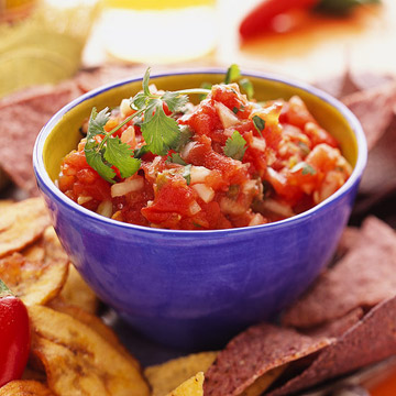 Roasted-Tomato Salsa