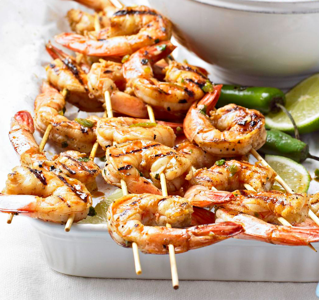Marinated Lime Shrimp
