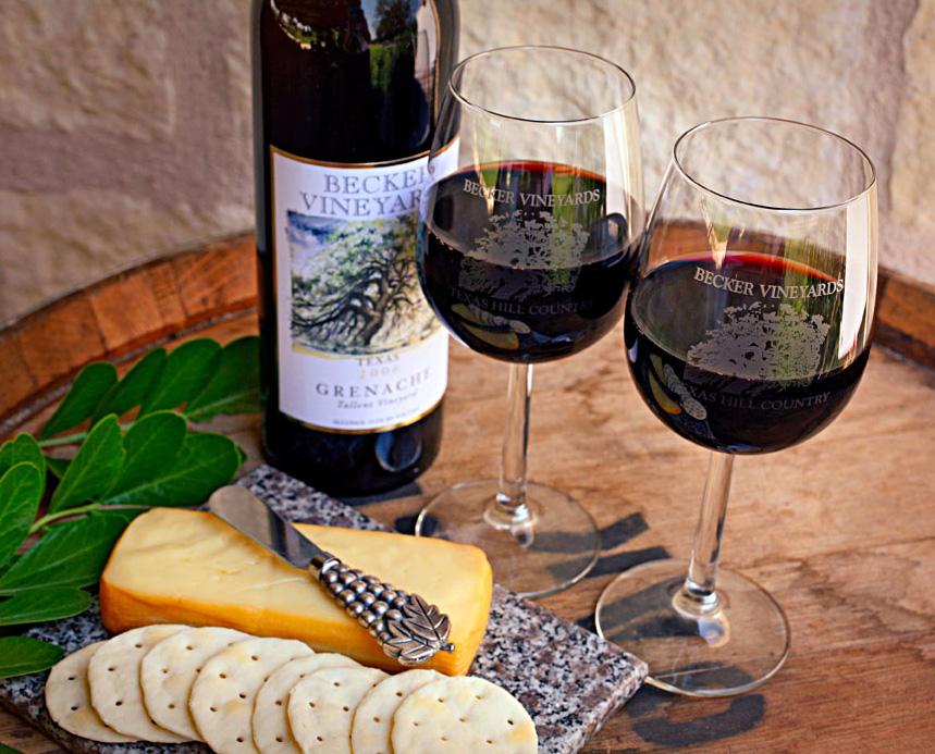 Becker Vineyards. Photo courtesy of Trish McCabe Rawls.