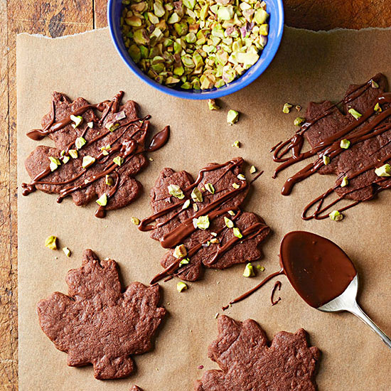 Spiced Chocolate-Pistachio Cookies