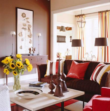 Decorating with brown