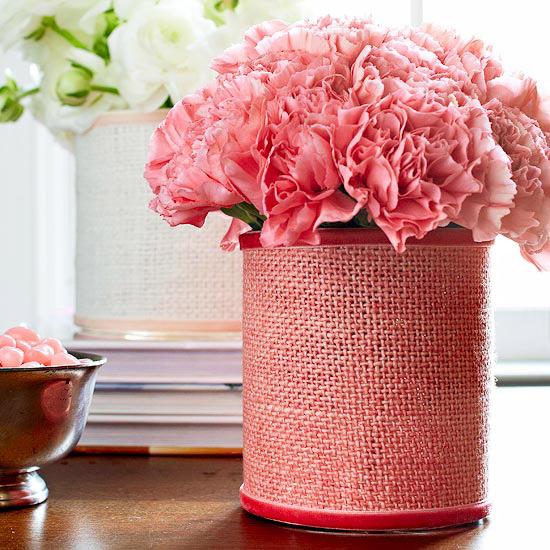 Wrap a vase