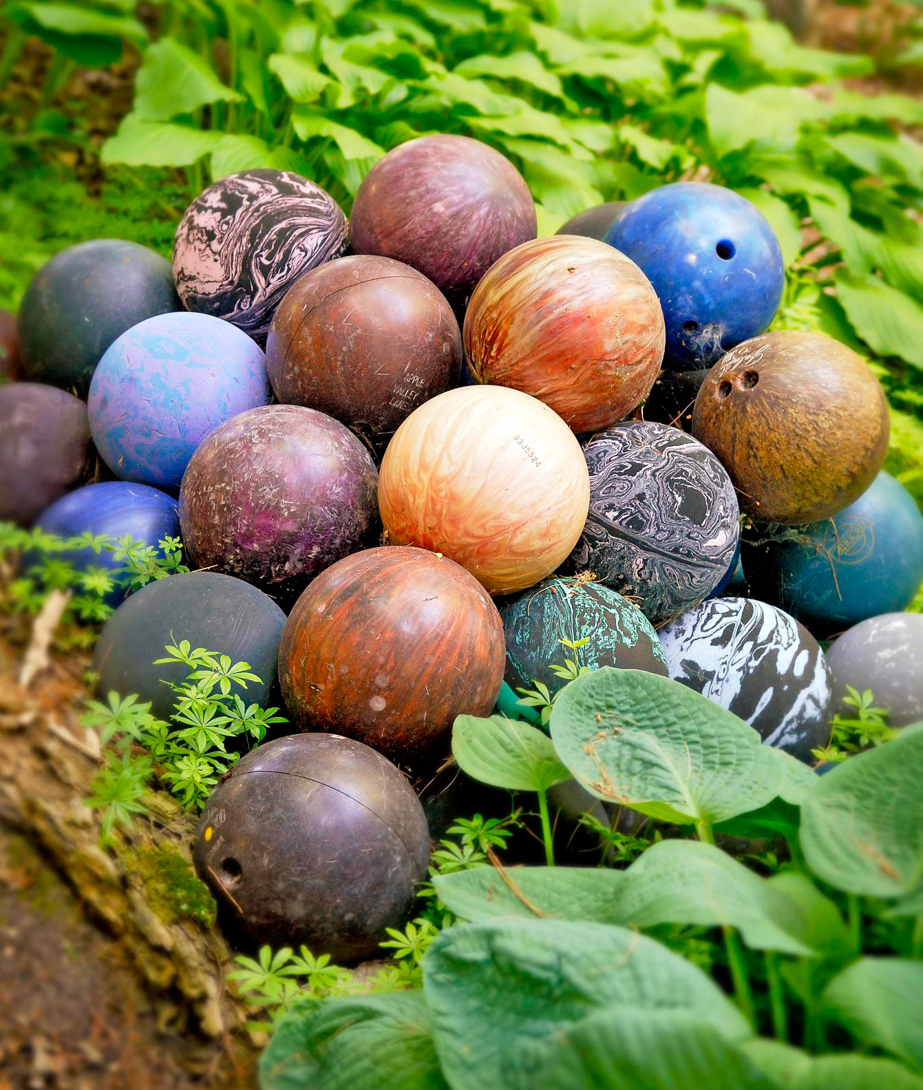 Bowling ball display
