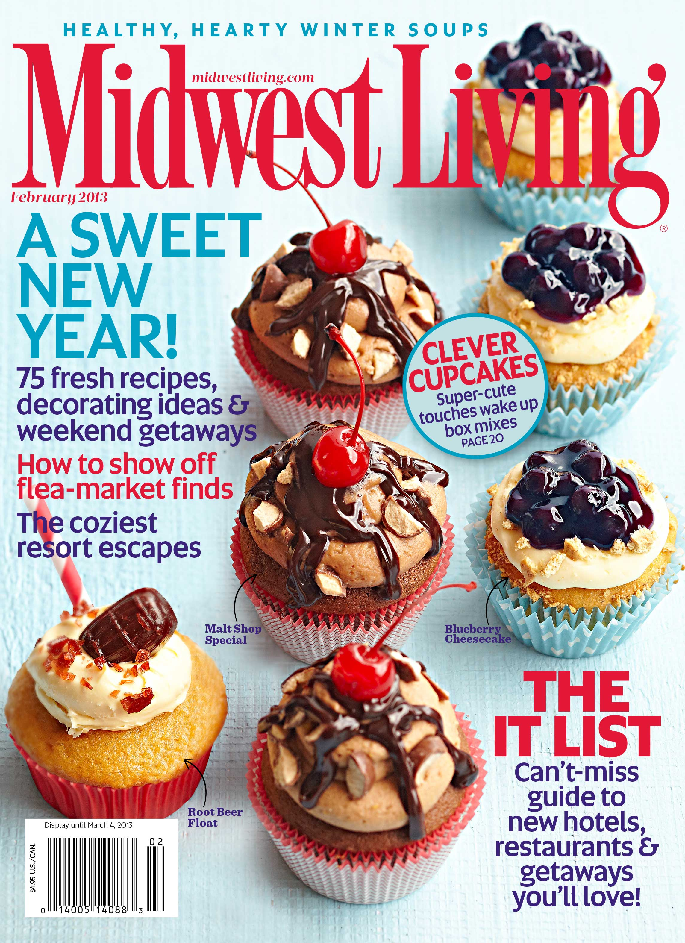 January-February 2013 Midwest Living Cover