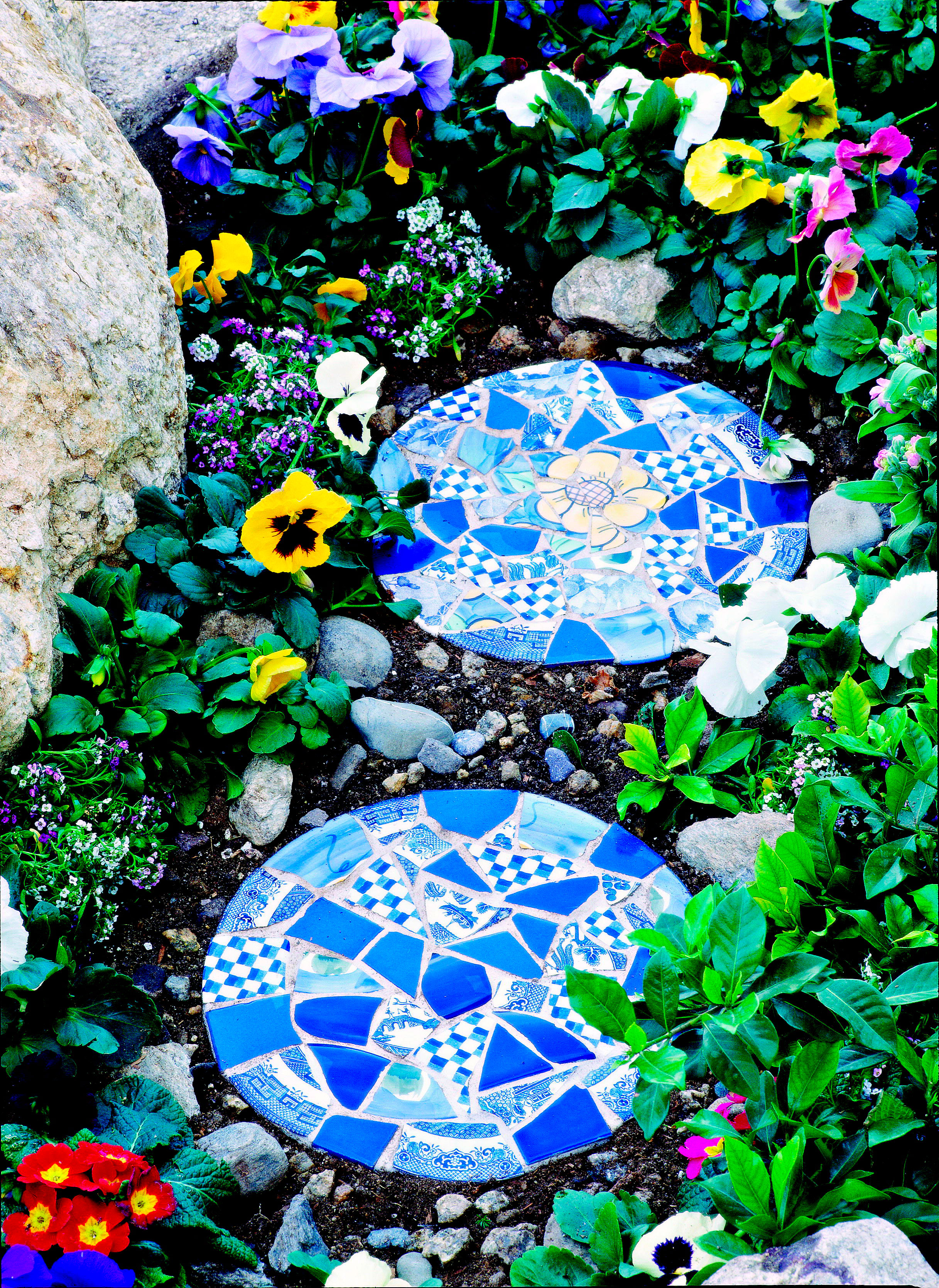 How to Make Mosaic Garden Projects   Midwest Living
