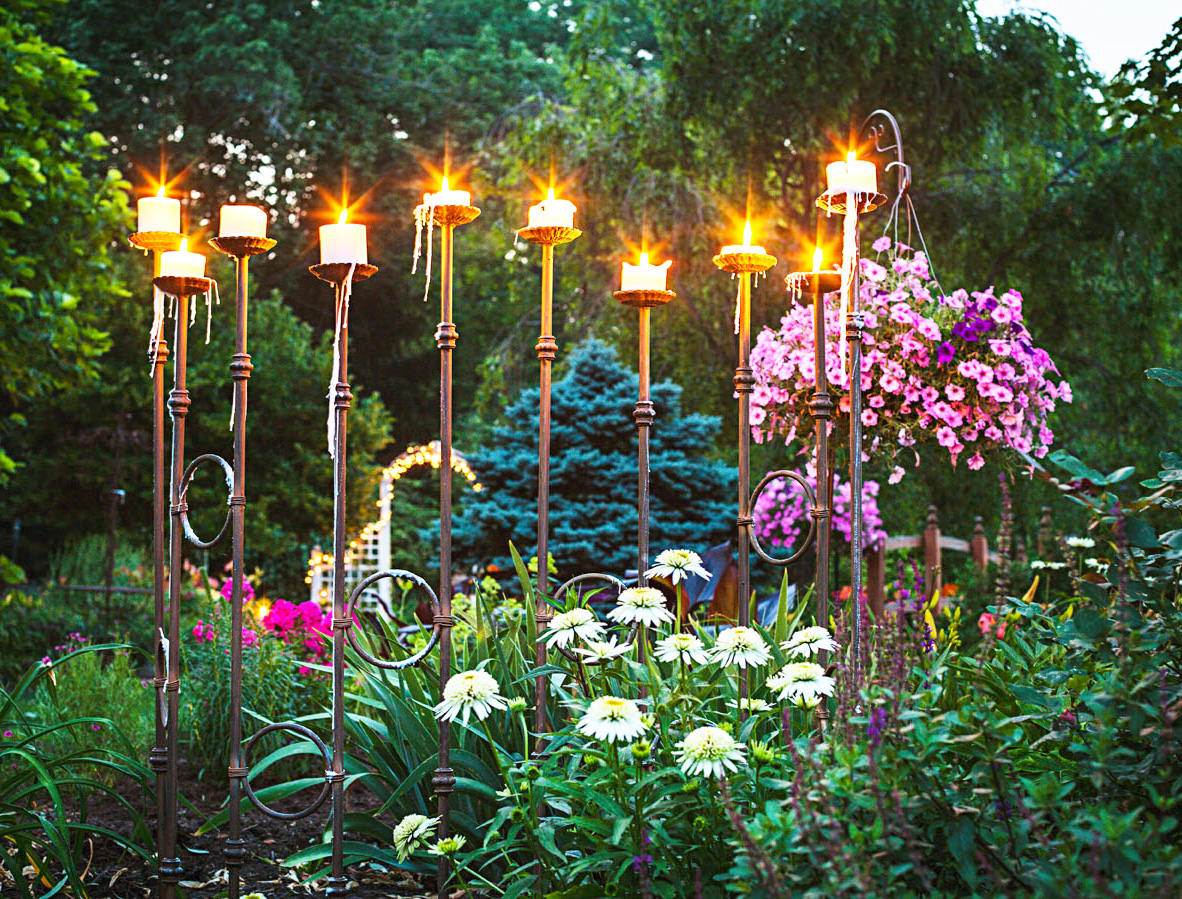 Garden lessons: Add mood lighting