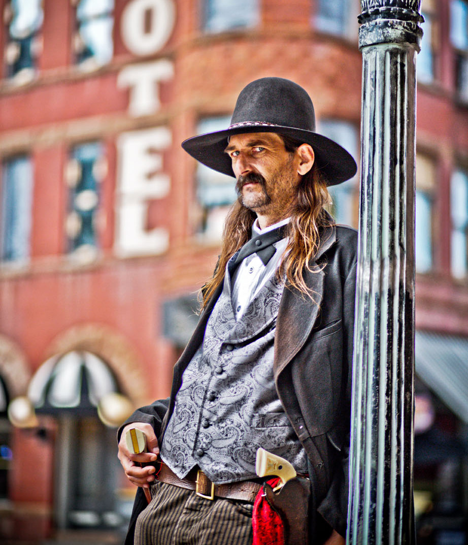 Wild Bill Hickok in Deadwood
