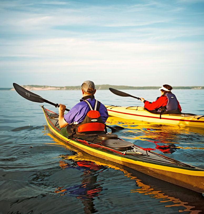 Sleeping Bear Dunes National Lakeshore, Honor, Michigan: Platte River Campground