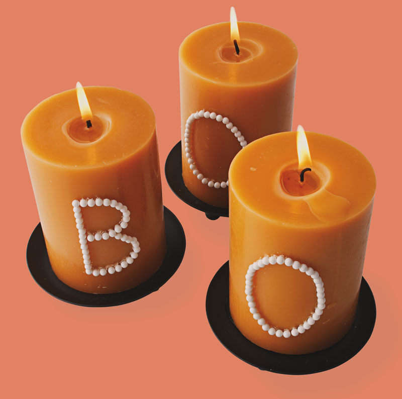 Candles with a message