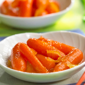 Orange-Glazed Baby Carrots