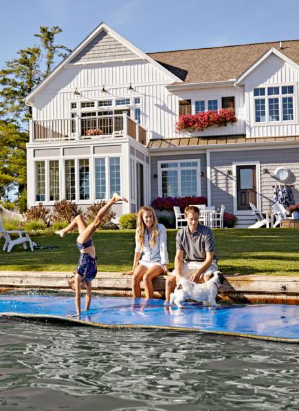 Lake house spirit