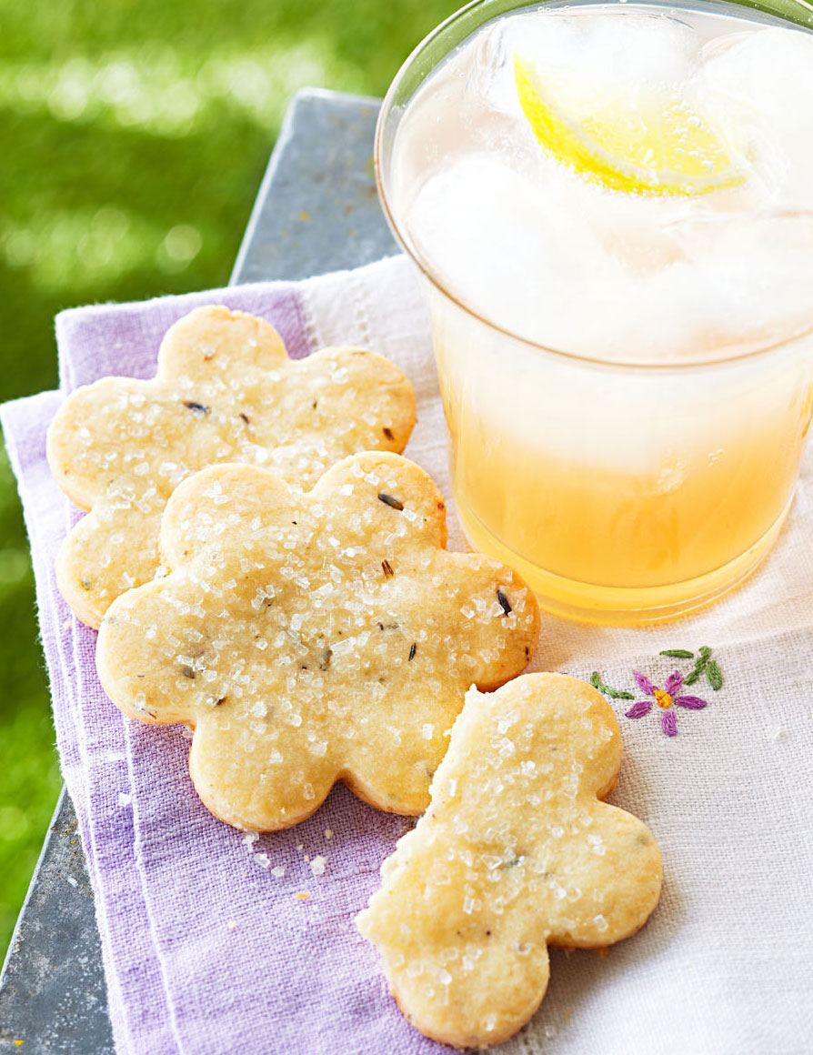 Make cookies and lemonade