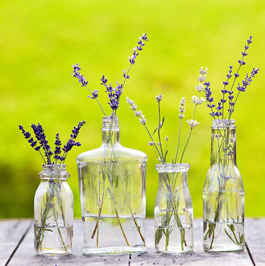 Decorate with lavender