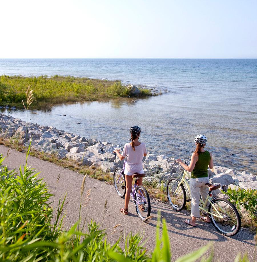 Michigan: The Little Traverse Wheelway