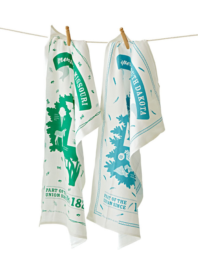 Vestiges Inc. tea towels