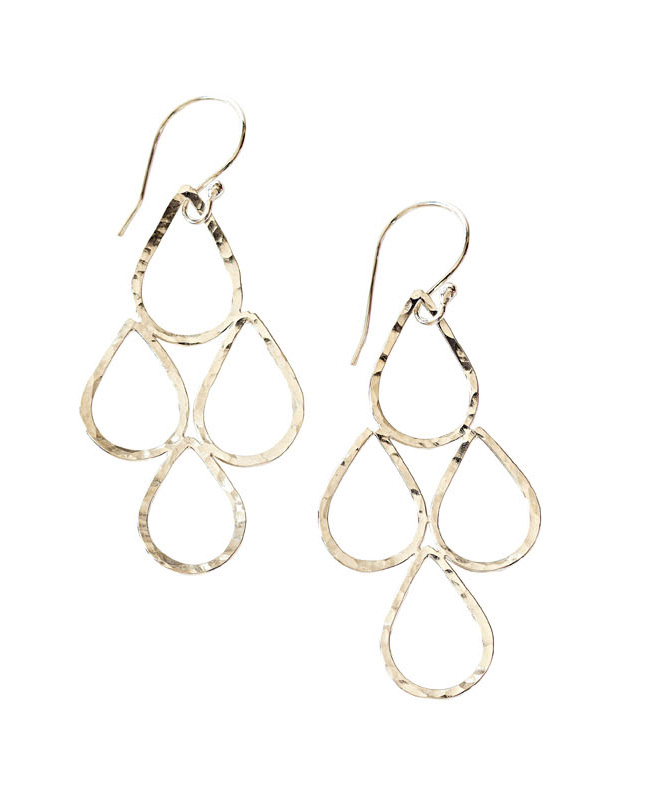Grey Goose Gifts chandelier teardrop earrings