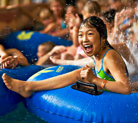 The wave pool at Kalahari Resort in Wisconsin Dells. Photo courtesy of Kalahari Resorts.