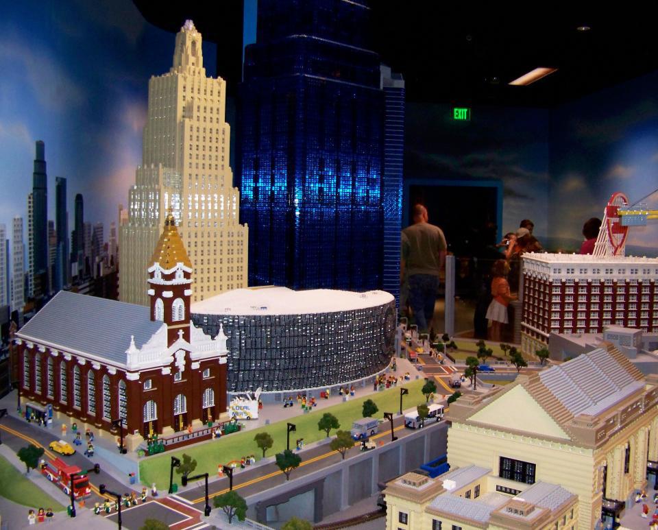 Legoland Discovery Center.