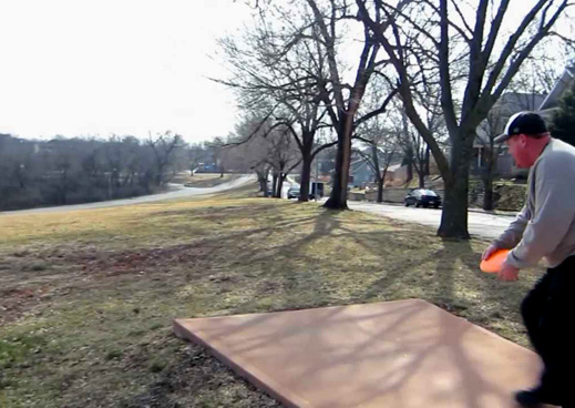 Kessler Park Disc Golf Course. Photo courtesy of Kansas City, Missouri, Department of Parks and Recreation.