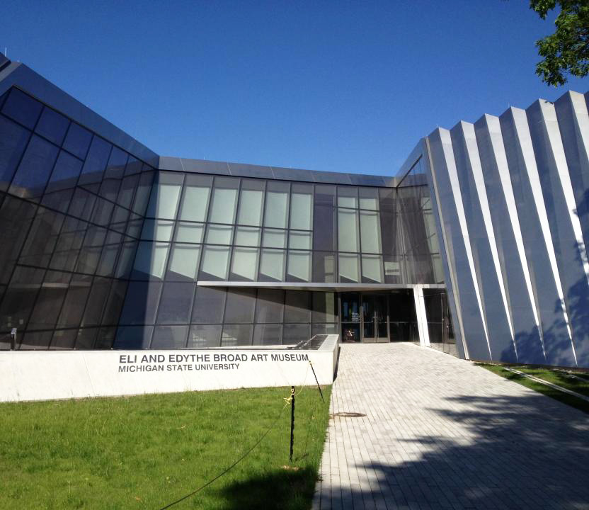 East Lansing, Michigan: Eli and Edythe Broad Art Museum