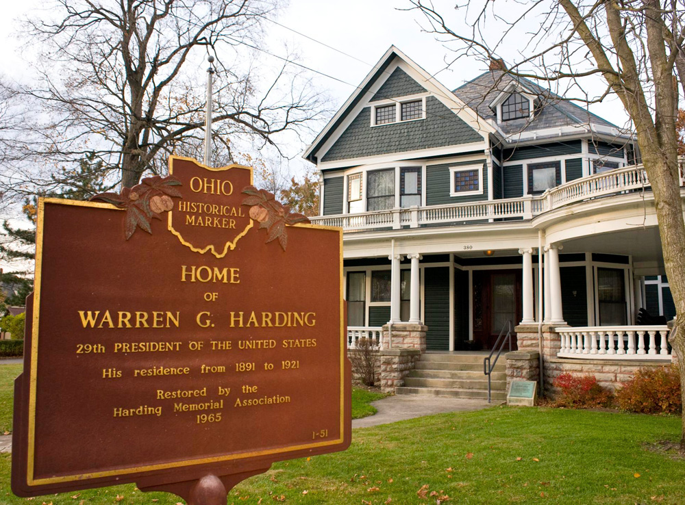 Harding Home, Marion