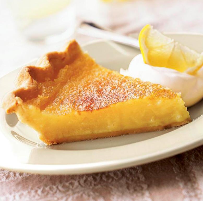 Triple Lemon Pie