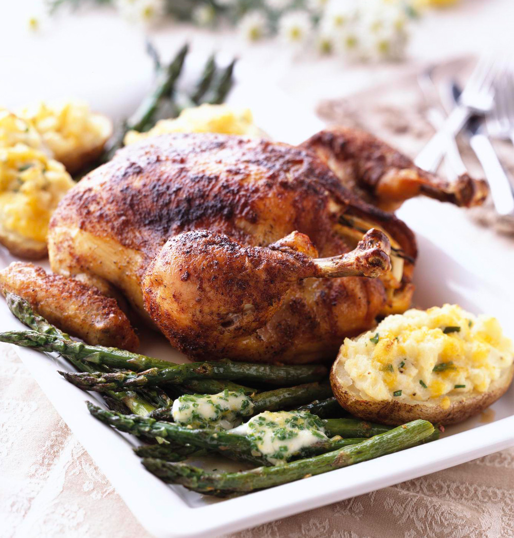 Citrus-Herb Roasted Chicken