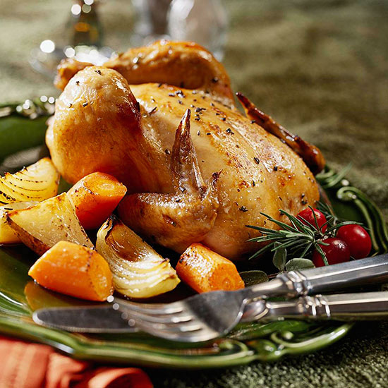 Cornish Game Hen with Roasted Root Veggies