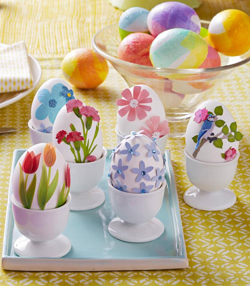 Easy Easter egg decorating