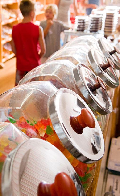 Grandma's Candy Kitchen.