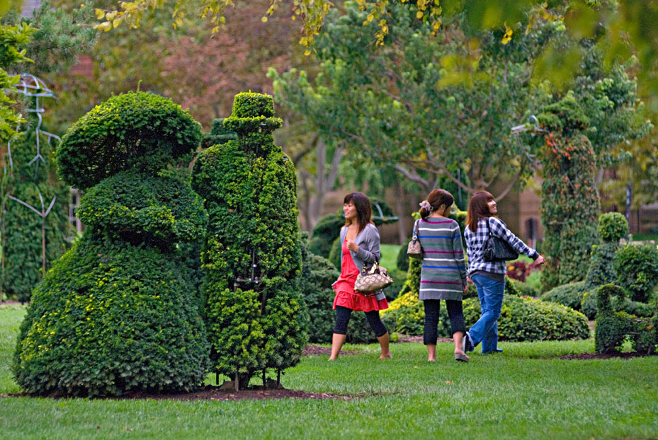 Topiary Garden. Columbus, Ohio.