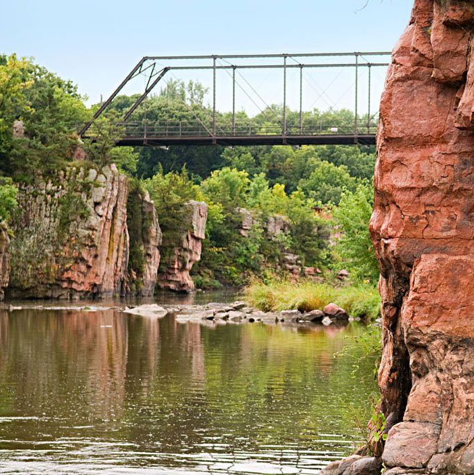 Garretson, South Dakota: Palisades State Park