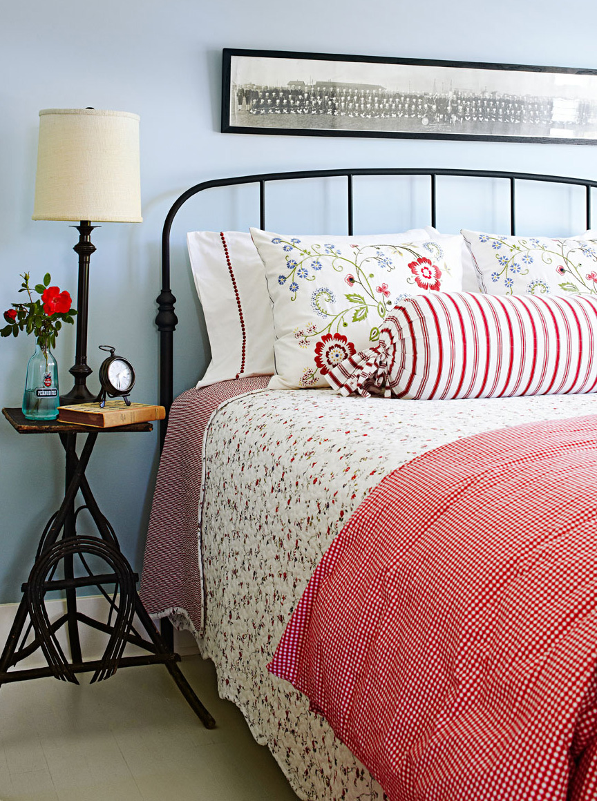 Gender-neutral guest bedroom