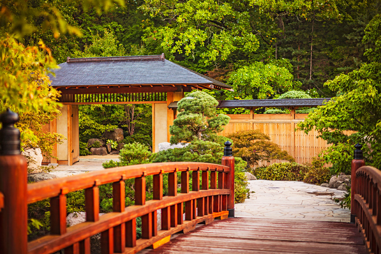 Anderson Japanese Gardens.
