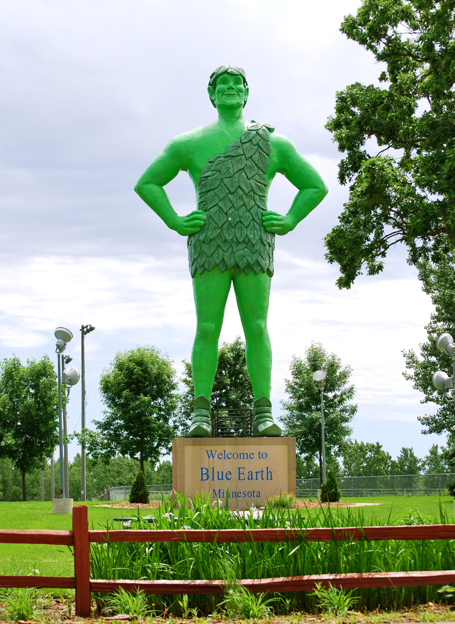 I-90: Jolly Green Giant Statue