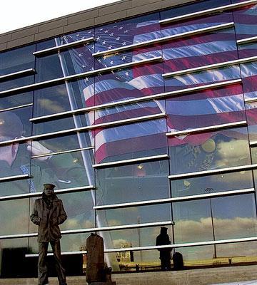 The Sullivan Brothers Iowa Veterans Museum in Waterloo, Iowa.