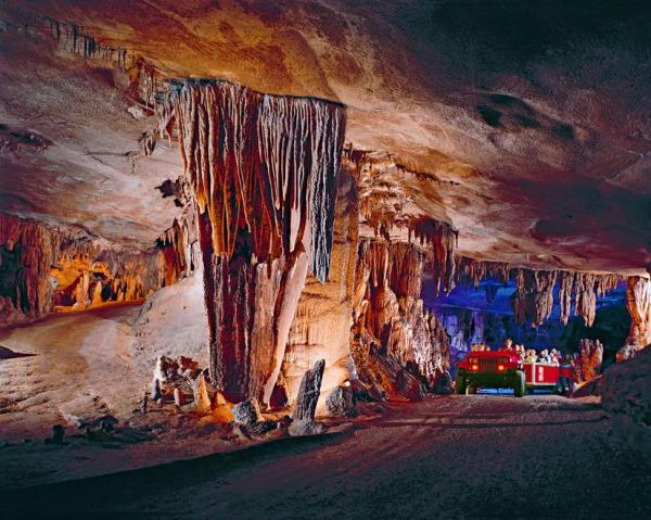 Fantastic Caverns; photo courtesy of Fantastic Caverns