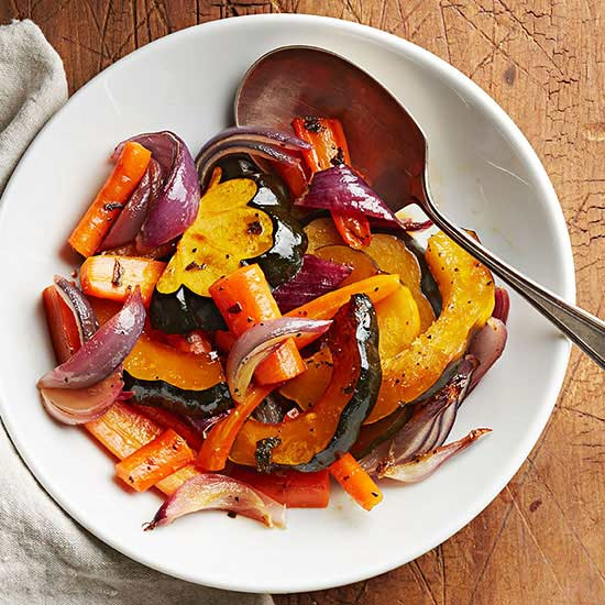 Cider-Glazed Vegetables