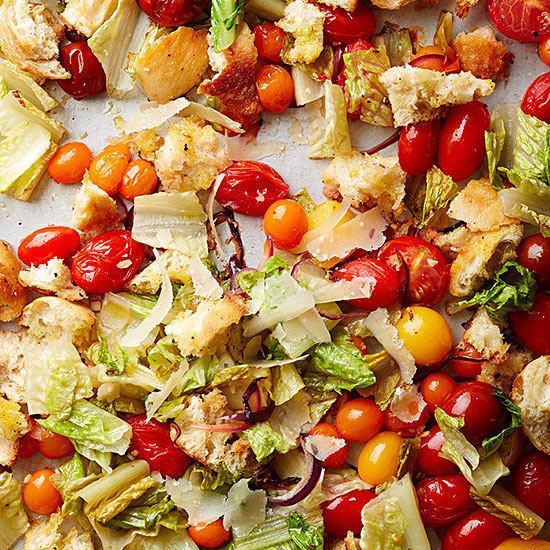 Roasted Panzanella Salad