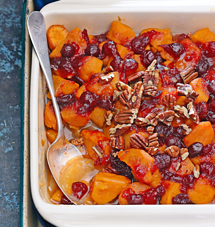 Cranberry-Apple Sweet Potatoes