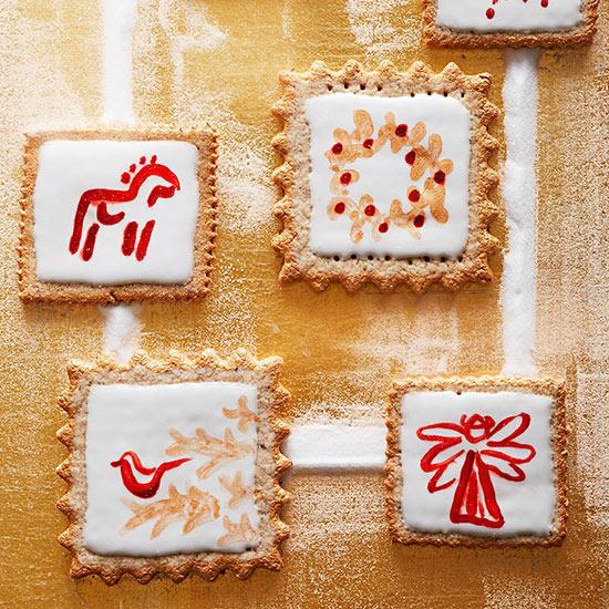 Cardamom-Rye Cookies