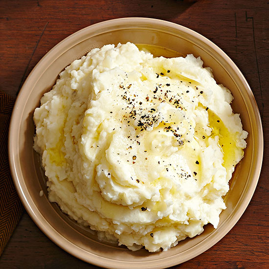 Creamy Horseradish Mashed Potatoes